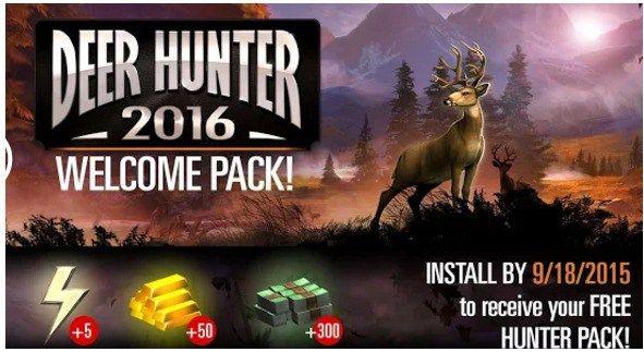 deer hunter 2016 apk mod