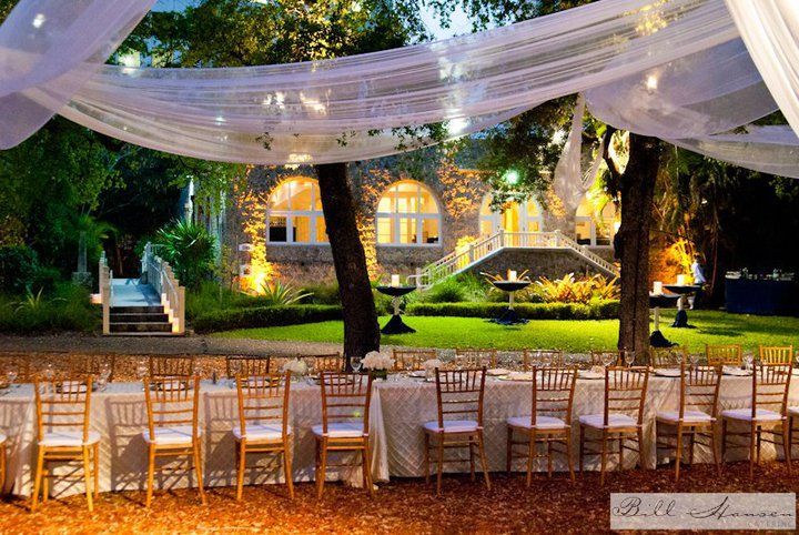 Place For Wedding Outside In South MiamiFlorida