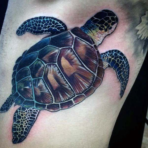 Sea Turtle Tattoos Turtle Tattoo Turtle Tattoo Designs Tattoos For Guys