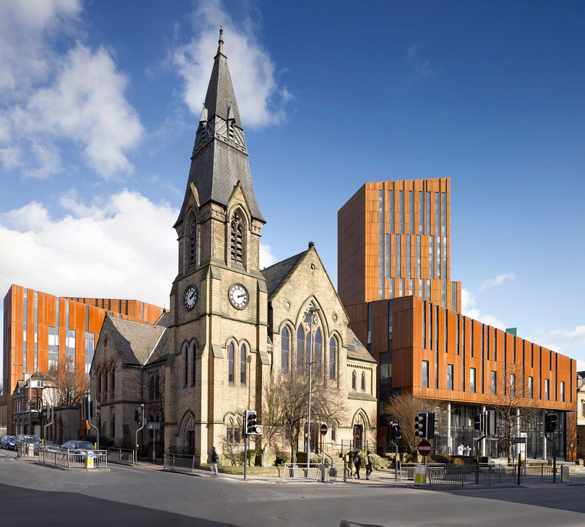 Pretty Places Leeds: FCB Studios Broadcasting Place Leeds Metropolitan