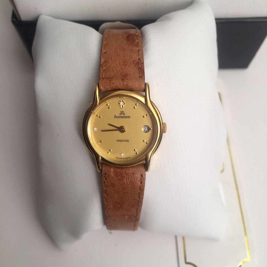 Satildi Romanson Orijinal Ve Etiketli Vintage Bayan Kol Saati 250 Vintage Vintagesaat Vintagewatch Saat Saatler S In 2020 Leather Watch Leather Accessories