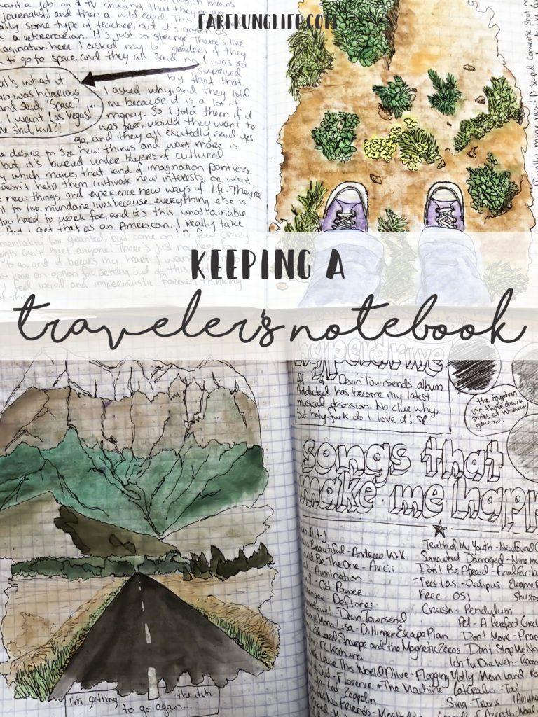 Keeping A Traveler S Notebook Travelers Notebook Travel Travel Inspired