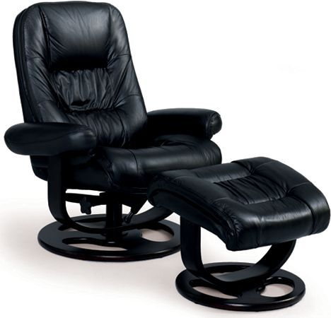 Andre Reclining Chair And Ottoman From The Reclining Furniture