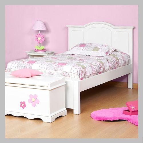 Pin de ady en d nyrooms pinterest cama blanca camas y dise o de cama para ni os - Camas infantiles blancas ...