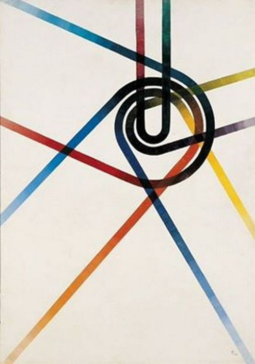 colinvian Anton Stankowski 1952 art abstract minimal