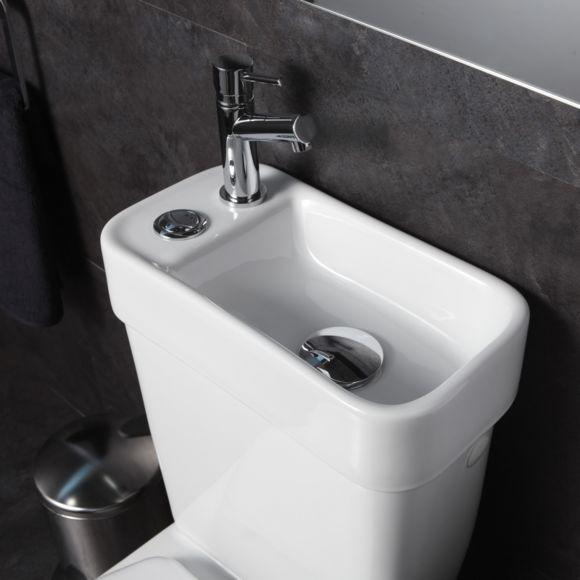 Planetebain Pack Wc Avec Lave Mains Integre Ecologique Et Economique Lave Main Wc Lave Main Toilette Petit Lavabo