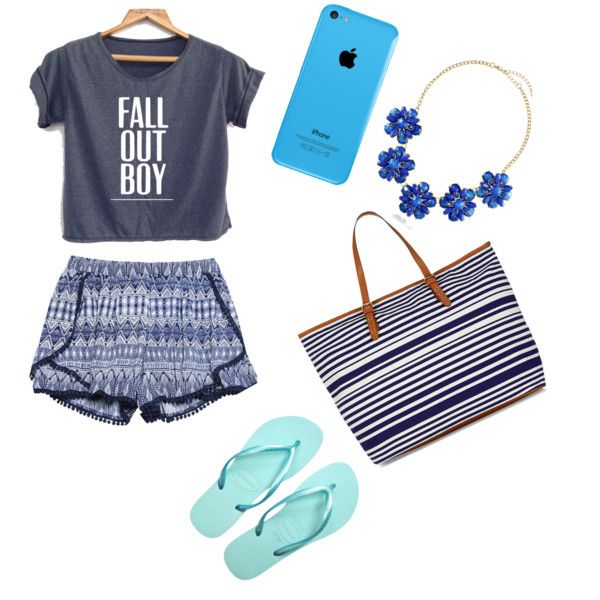 Beachy by romy-groenland on Polyvore featuring polyvore, mode, style, Wet Seal and BERRICLE