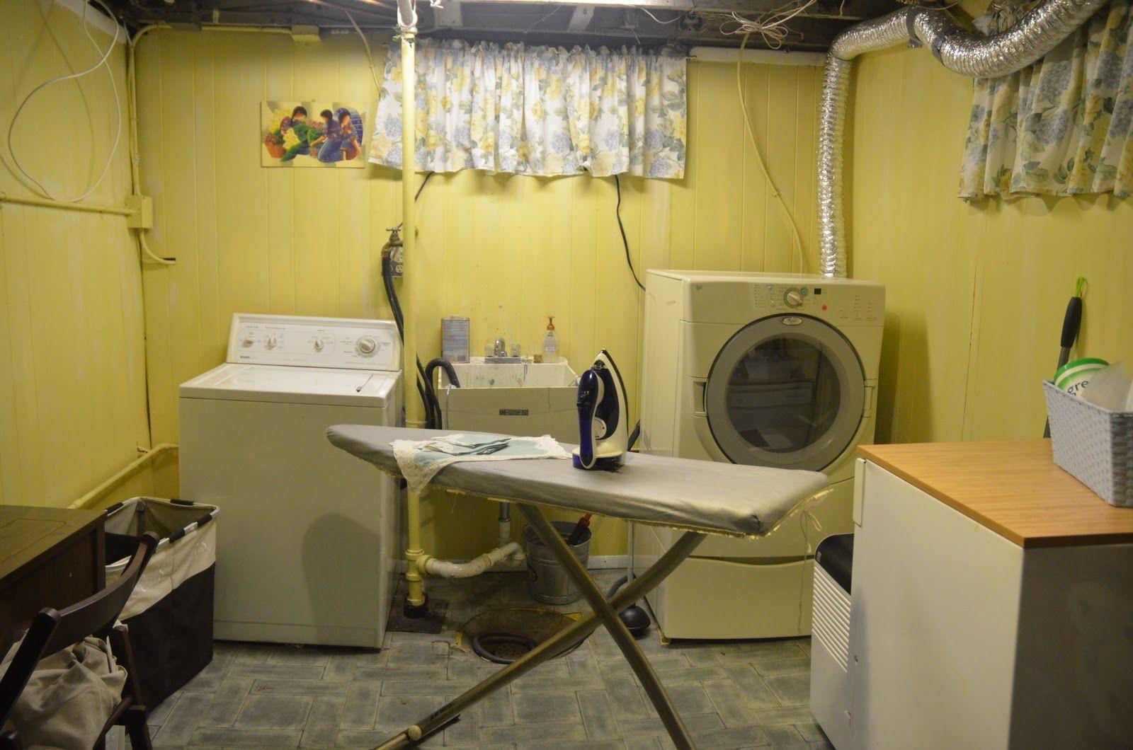 27+ Coolest Basement Laundry Room Ideas | Basement laundry ...