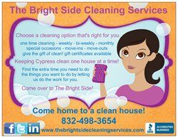 Loving My New Postcards The Bright Side Cleaning Services Cleaning Service Vistaprint Business Cards Postcard