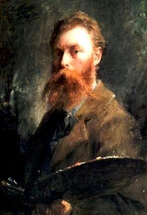 Frans Mortelmans  - Self portrait