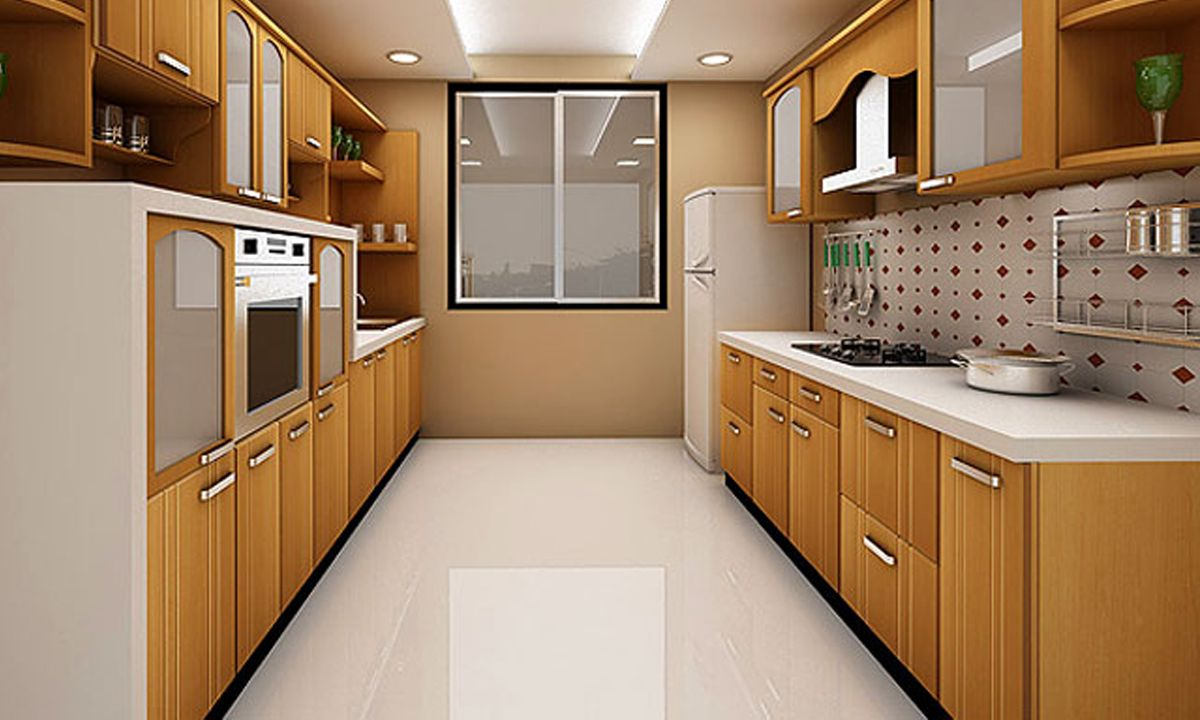 Parallel Kitchen Designs | Parallel kitchen design ...