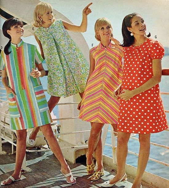 low priced recognized brands good looking Summer fashions of 1968.   Women's Fashion in 2019   Fashion ...