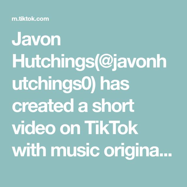 Javon Hutchings Javonhutchings0 Has Created A Short Video On Tiktok With Music Original Sound Michaeljackson Hood Wa Original Music Hip Workout Funny Gif
