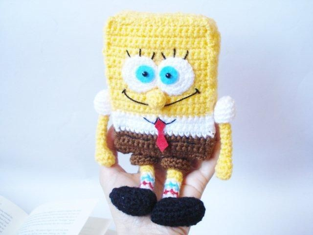 Amigurumi Doraemon Pattern : Amigurumi spongebob pattern amigurumi patterns and felt patterns
