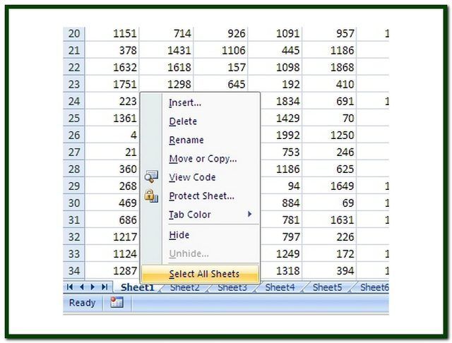 Print several Excel worksheets on one page How To (so I don\u0027t