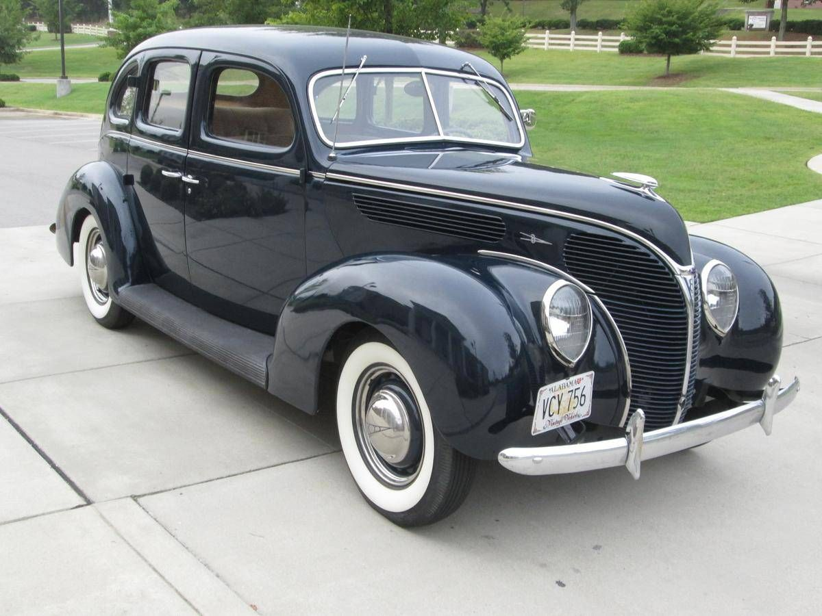 1938 Ford Model 81a 4 Door Deluxe Sedan Old Classic Cars Ford