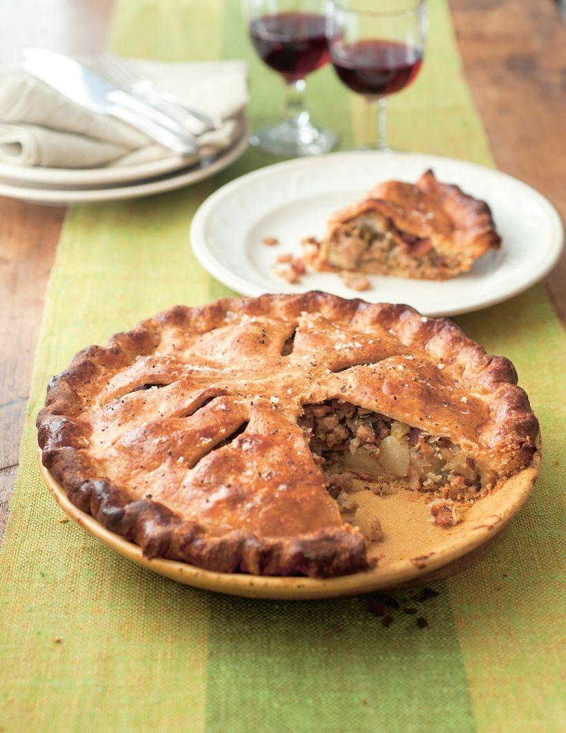 Pork and bacon pie recipes