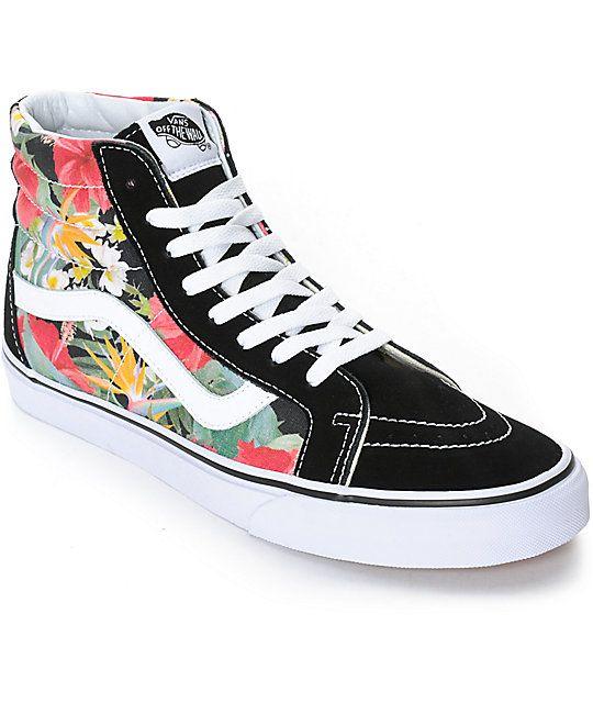 9eaba923bb57 Vans Sk8-Hi Digi Aloha Skate Shoes (Mens)
