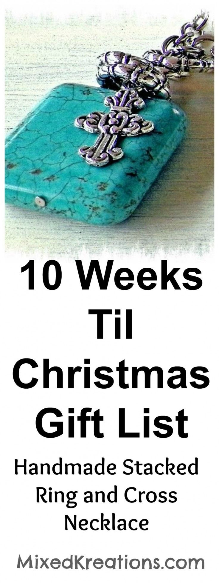 10 Weeks Til Christmas Gift List - Featured Stacked Ring and Cross ...