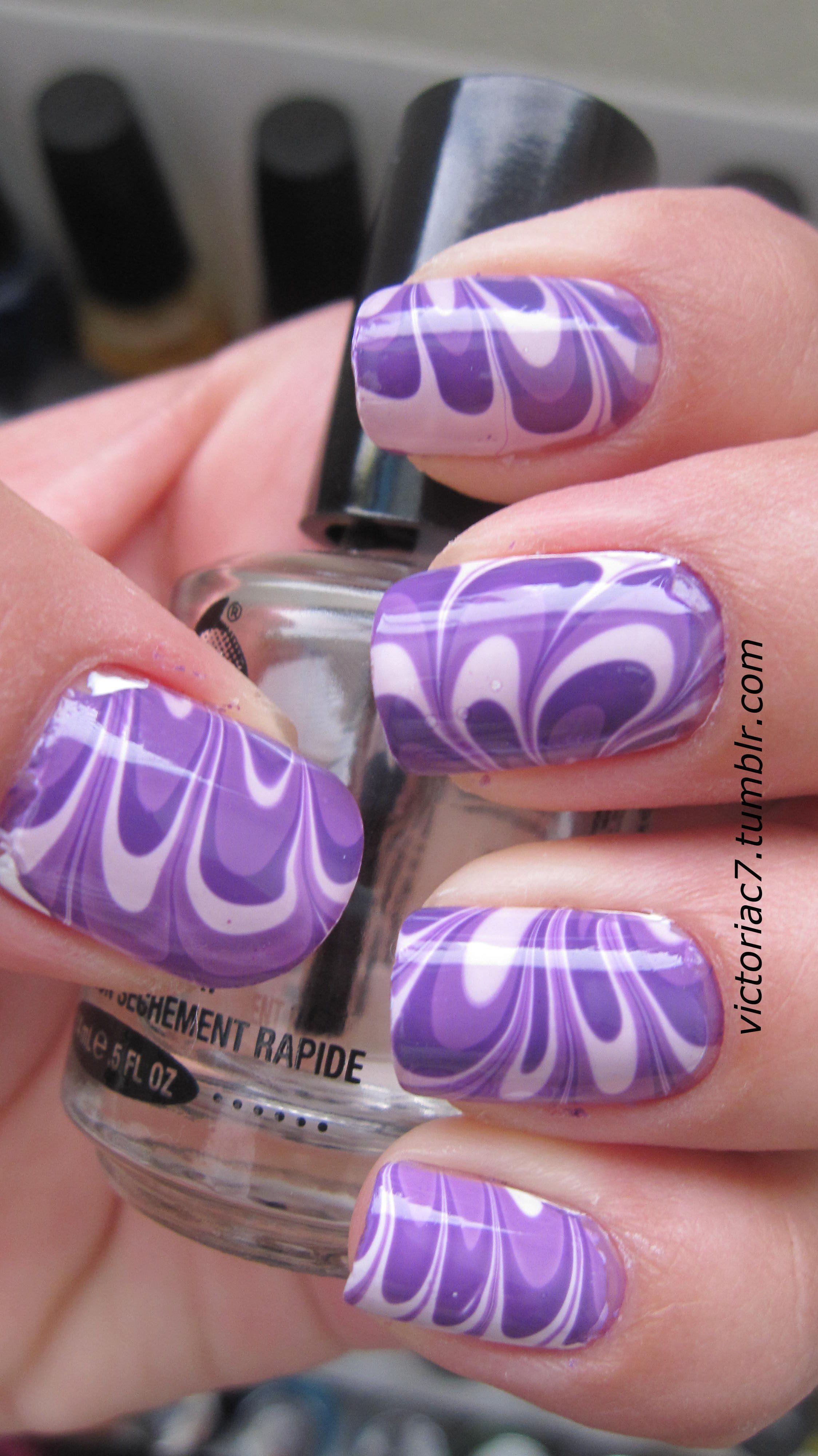 water marble | My Nail Art | Pinterest | Marbles, Water and Nail nail