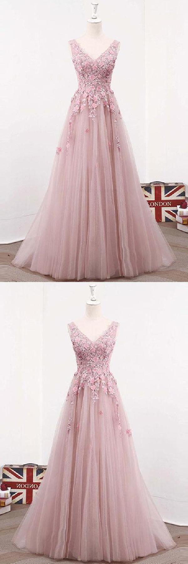Pink prom dresses long prom dresses prom dresses lace dress