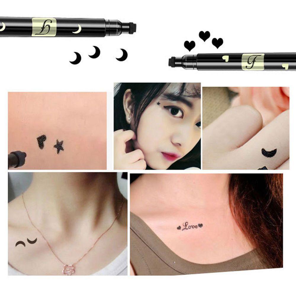 Girl Makeup Eyeliner Pen Stamp Waterproof Cosmetic Eye