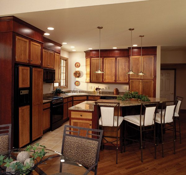 Two tone cabinets cabinets northern california bay for California style kitchen