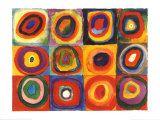 Farbstudie Quadrate  c1913  Kandinsky.  Such incredible colours!