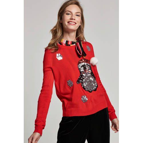 Kersttrui Dames 2019.Kersttrui Met Pailletten In 2019 Products Graphic Sweatshirt
