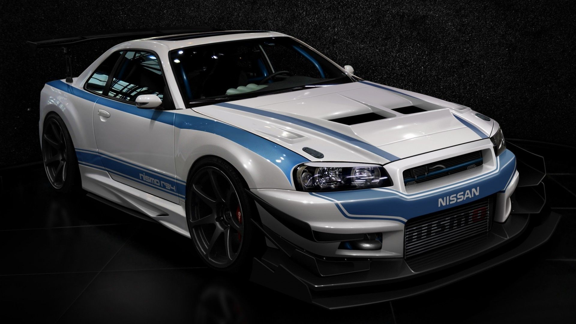 Cars Design Tuning Tuned Nissan Skyline Gt R