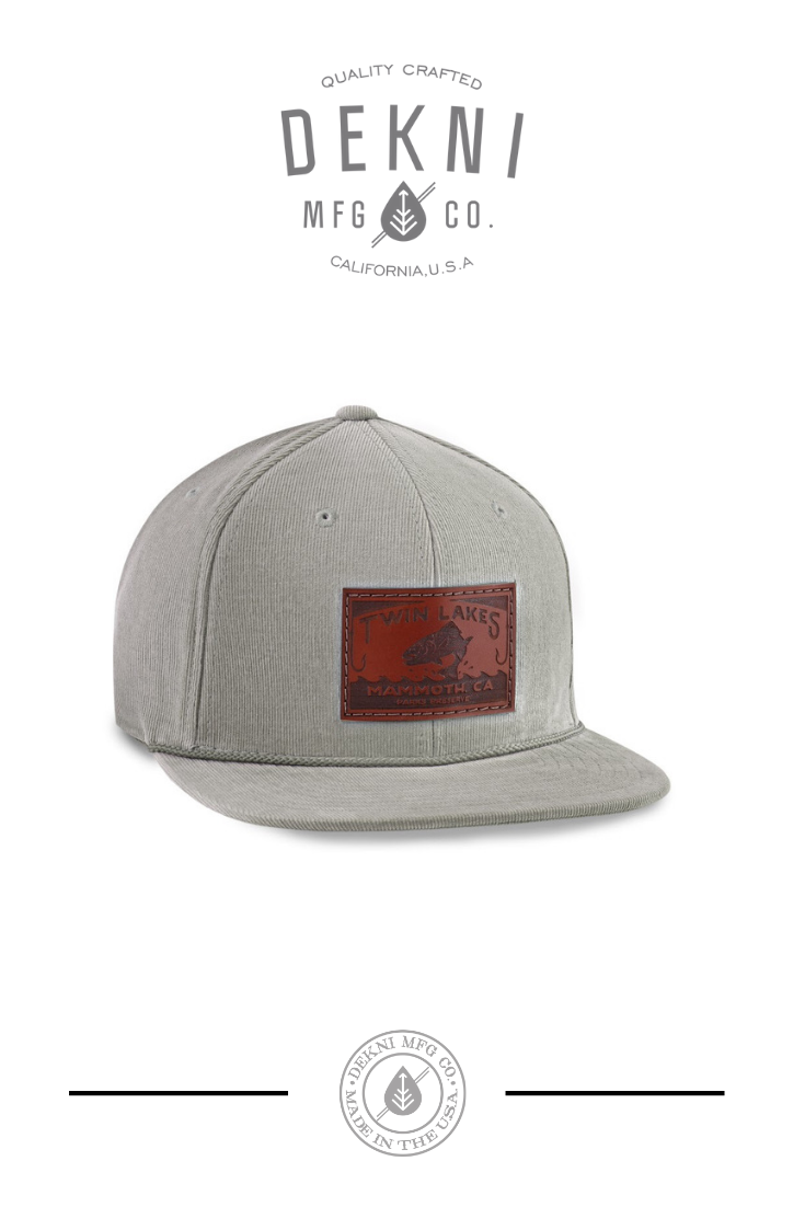 8e4f1a91627dd Custom Leather Patch Cap by Dekni Creations | Engraved Leather Patch Hats |  Headwear with Leather