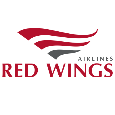 Red Wings Airlines Flyredwings Logo Design Creative Logo Design Creative Logo