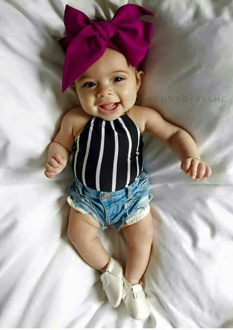 This Stylish Diva Baby With Images Cute Baby Clothes Baby