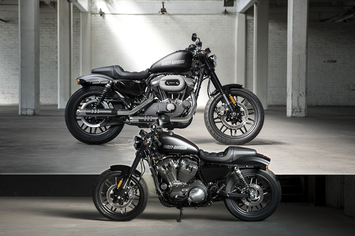 Harley Davidson Stock: The New (stock) Harley-Davidson Roadster 2016