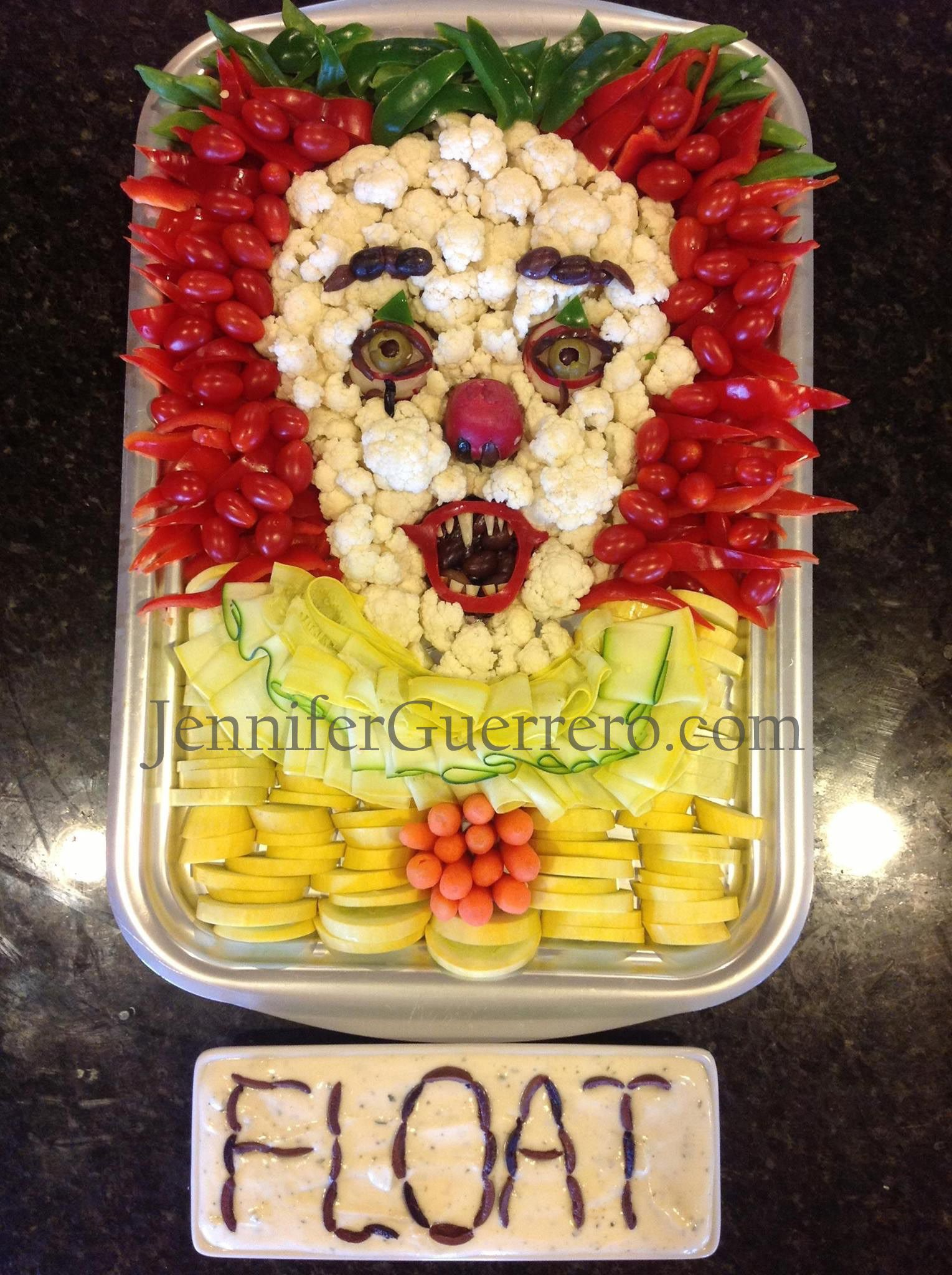 Pennywise the Clown Jennifer Guerrero Halloween food
