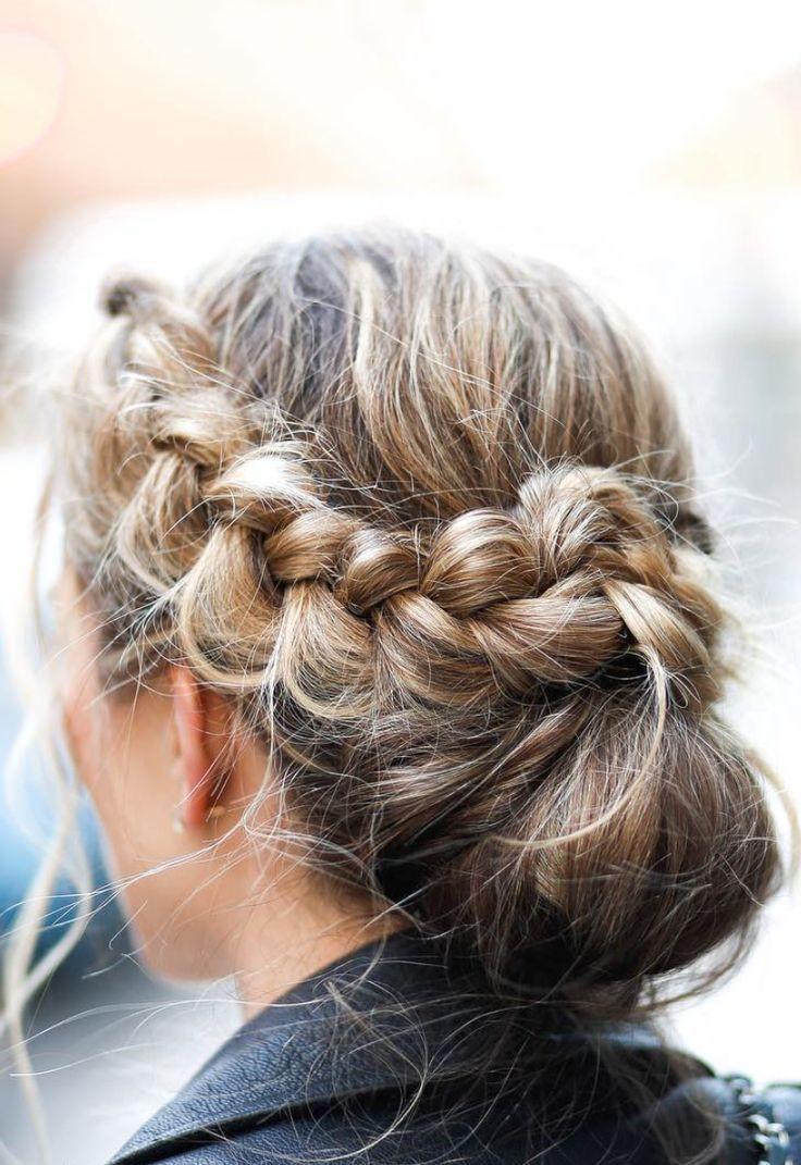 braided bun | beauty inspo. in 2019 | Hair, Braids, Hair ...