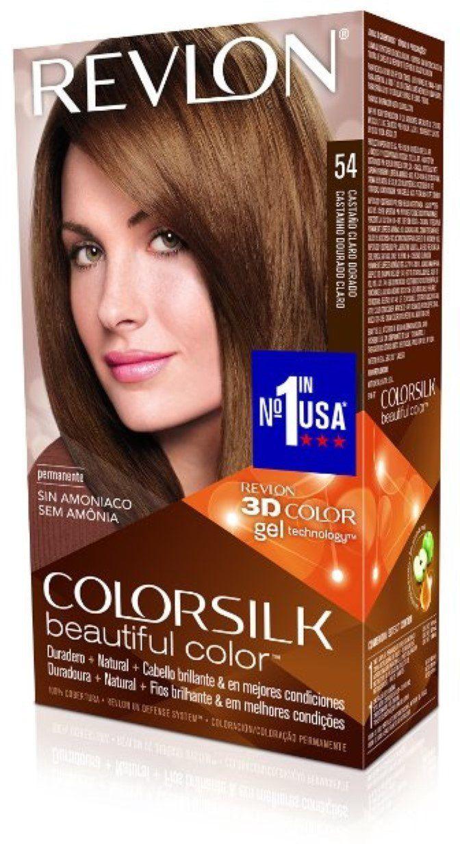 Revlon Colorsilk Hair Color 54 Light Golden Brown 1 Each Pack Of 12