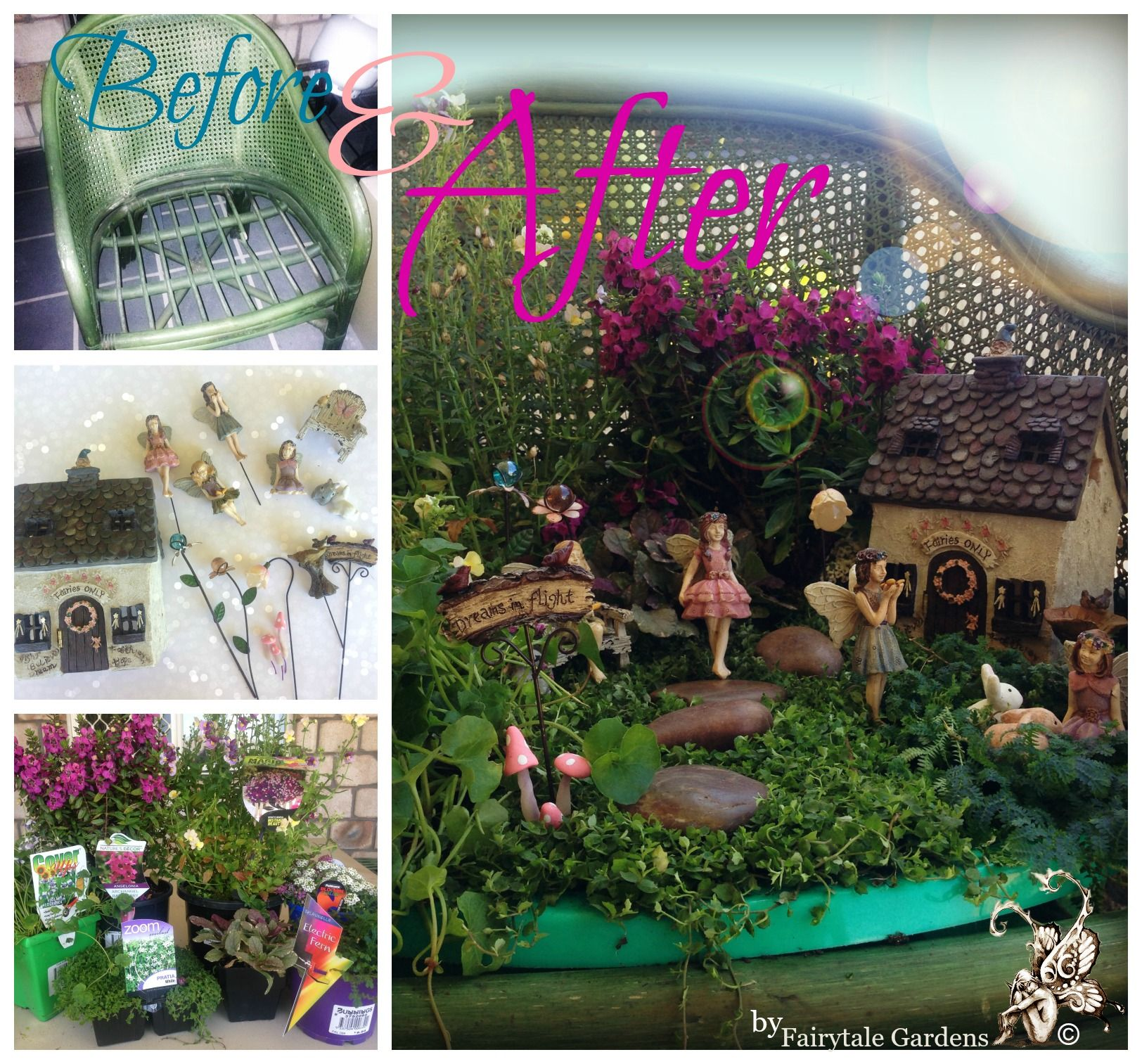 Get creative in your garden this summer with this amazing for Decoracion jardin gnomos