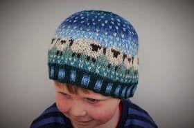 Donna Smith Designs: Peerie Baa-ble Hat