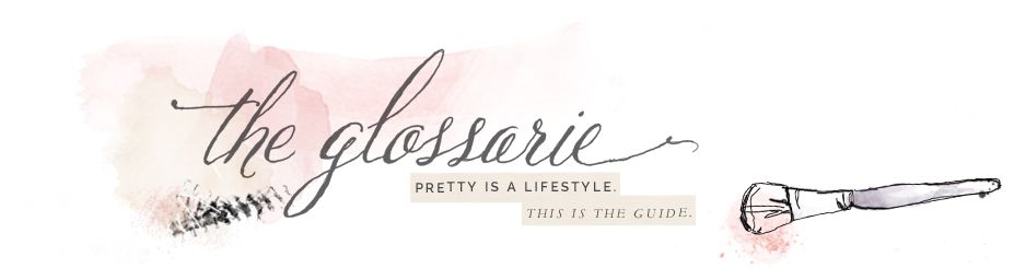 the glossarie  a pretty little beauty blog this site has