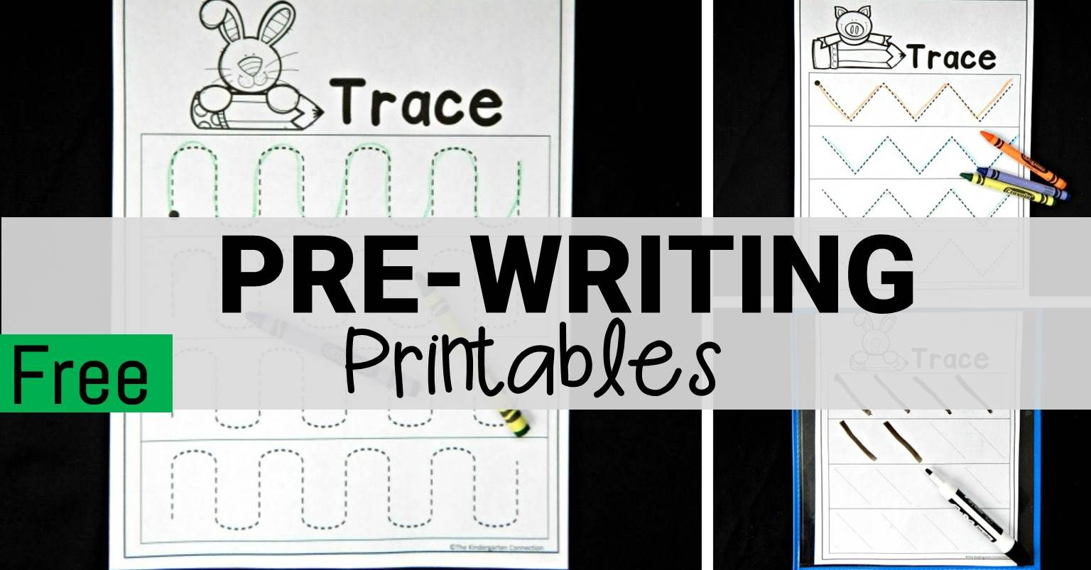 Free Pre Writing Worksheets In