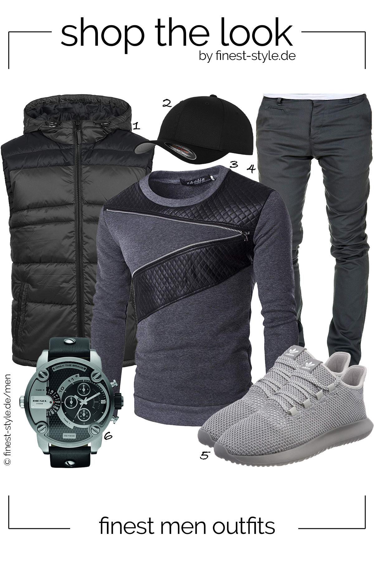 Outfit Fur Manner Bestehend Aus Teilen Von Diesel Flexfit Whatlees Blend Adidas Und Amaci Sons Menswear Mannero Manner Outfit Herren Mode Mode Fur Manner