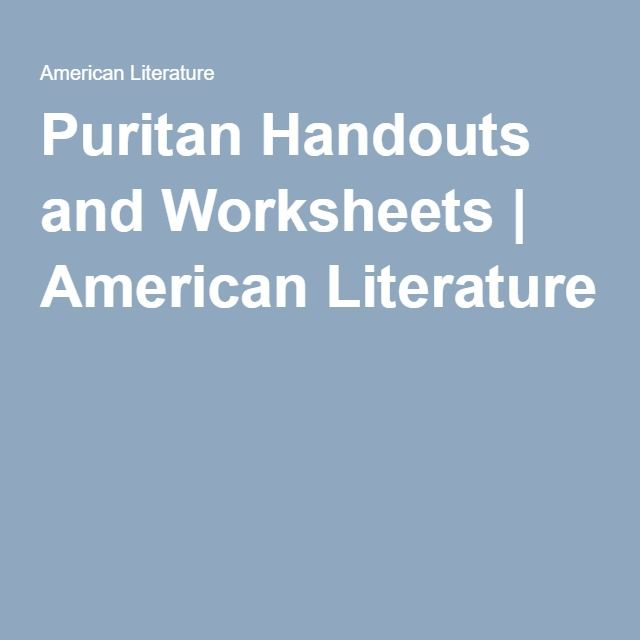 Division Fact Family Worksheets Word American Literature Timeline Periods  Realism In American  Merge Worksheets In Excel Word with Vlookup Different Worksheet Pdf Puritan Handouts And Worksheets Simile Exercises Worksheets