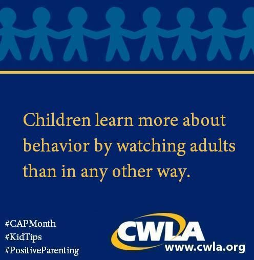 A tip sheet/tool box for promoting positive behavior and self-responsibility and for responding to unacceptable behaviors. http://www.cwla.org/2014Advocacy/PositiveDiscipline.pdf #CAPMonth #KidTips #PositiveParenting