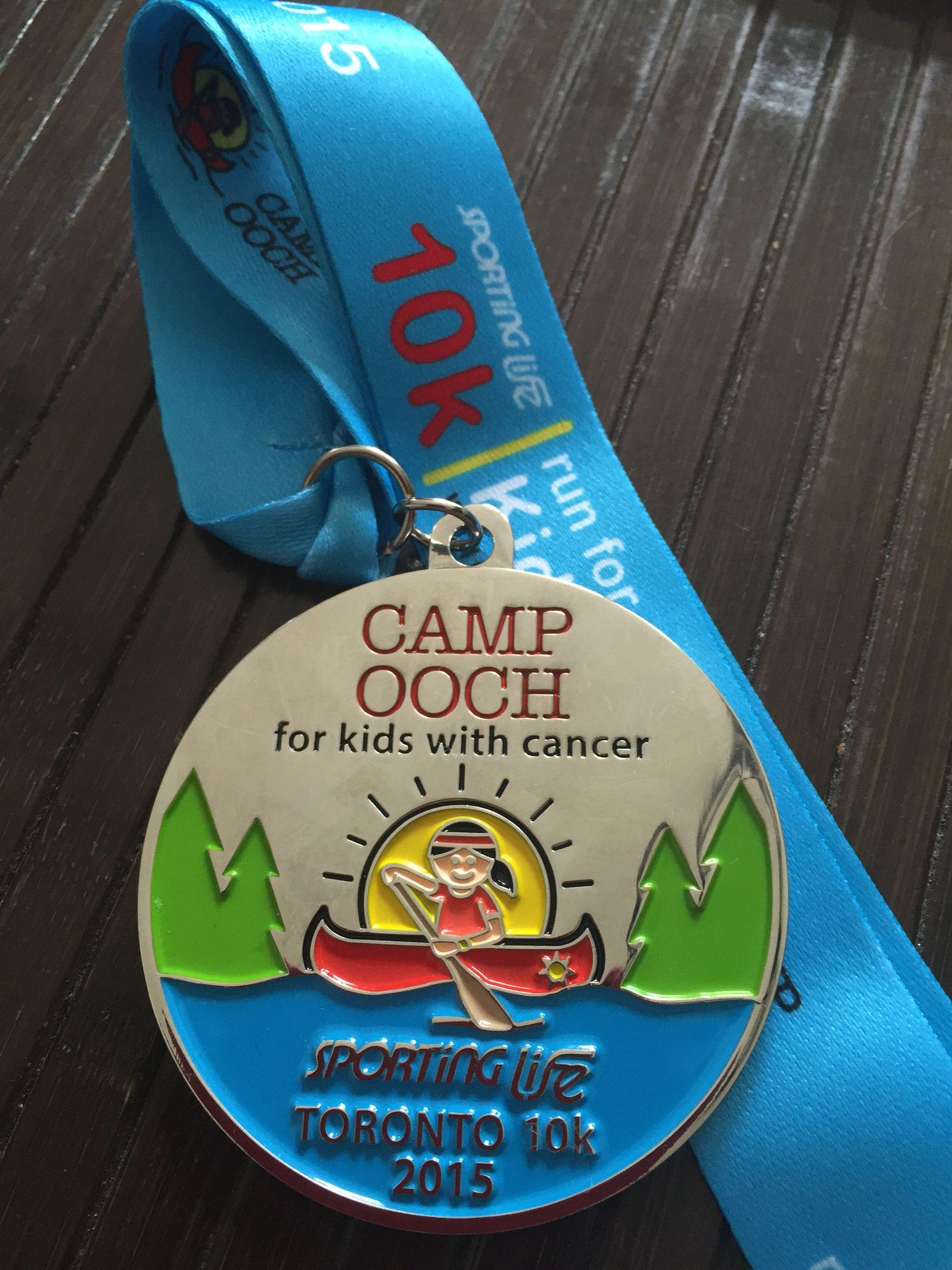 Sporting Life 10K 2015   Race medal, Running 10k, Sports