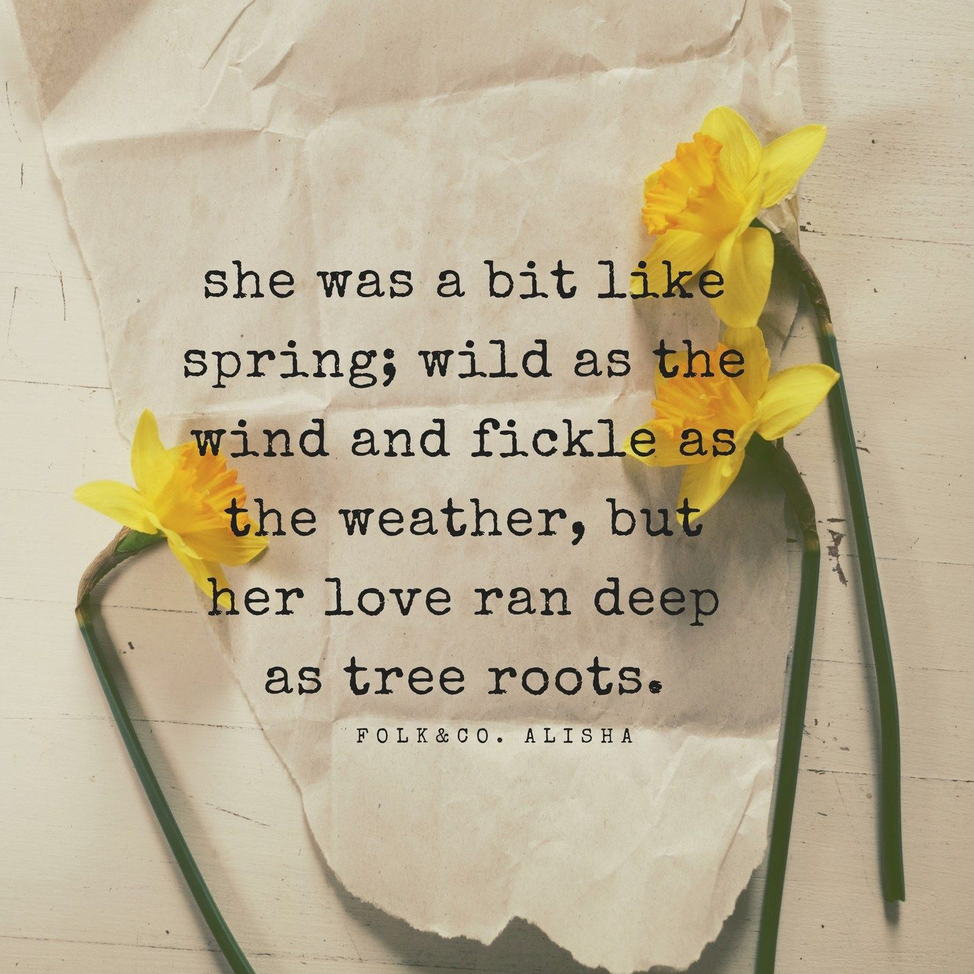 Modern Poetry She Was A Bit Like Spring Wild As The Wind And