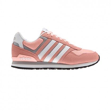 adidas 10k b74713 vrijetijdsschoenen donne haze coral