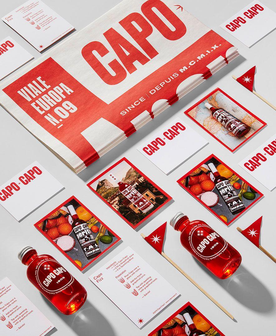 Capo Capo Concrete Brand Concept Creative Branding Branding