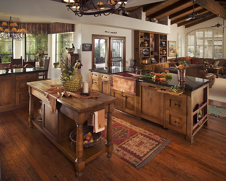 Rustic Kitchens That Draw Inspiration Make Mine Rustic