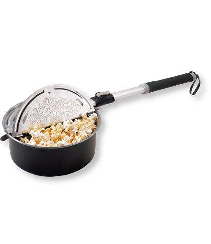 Great Northern Popcorn Pit Popper Campfire Firepit Popcorn Popper